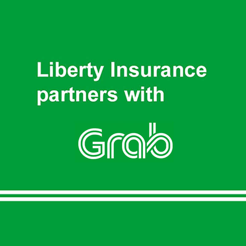 Liberty Insurance partners with Grab